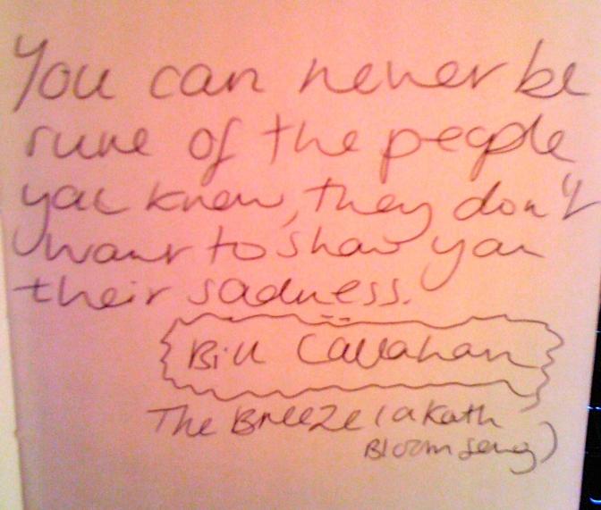 Listen Up! Bill Callahan